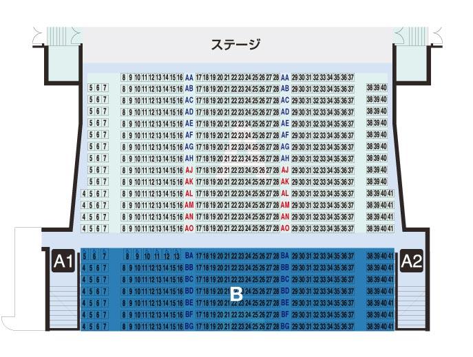A-Seats 【506席】