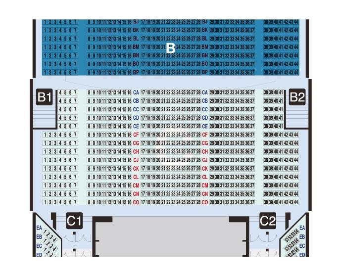 C-Seats 【586席】